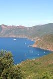 Reserve Naturelle de Scandola. Photos stock