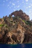 Reserve Naturelle de Scandola Photo libre de droits