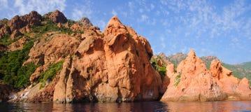 Reserve Naturelle de Scandola Images stock