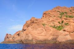 Reserve Naturelle de Scandola Image libre de droits
