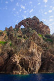Reserve Naturelle de Scandola Royalty Free Stock Photo