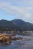 Reserve Point Lobos on the Pacific Ocean Stock Image