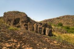 Reserve Stone Tombs, Ukraine Royalty Free Stock Photo