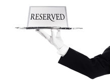 Reserved Stock Image