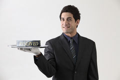 Reserved Royalty Free Stock Photos