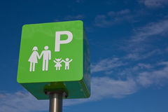 Reserved for families Royalty Free Stock Image