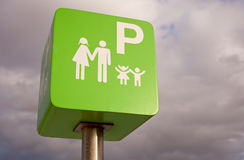 Reserved for families Stock Photos
