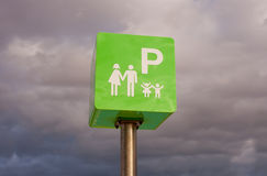 Reserved for families Royalty Free Stock Photo