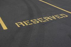 Free Reserved Parking Spot Royalty Free Stock Image - 98267296