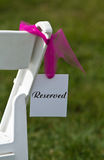 Reserved Seat Stock Photos