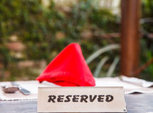 Reserved Royalty Free Stock Image