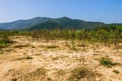 Reserved water at Hui Lan irrigation dam Stock Images