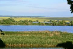 Reserves of fresh water. Rivers of Russia Stock Photo