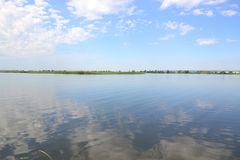 Reserves of fresh water. Rivers of Russia Royalty Free Stock Photography