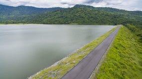 Reservior dell'acqua di preu di Huai, nayok Tailandia del nakorn della diga Immagini Stock Libere da Diritti