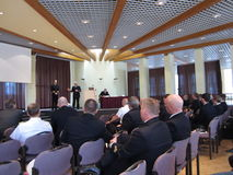 Reservist Meeting of the German Navy Royalty Free Stock Photography