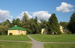 Reservmuseum Pushkin Boldino Arkivbild