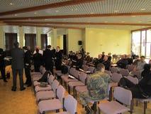 Reservofficermöte av den tyska marinen fotografering för bildbyråer