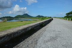reservoir Royalty-vrije Stock Foto's