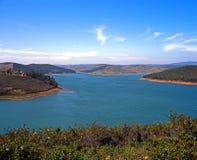 Reservoir, The Algarve, Portugal. Stock Photography