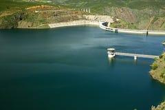 Reservoir Atazar Lizenzfreies Stockbild