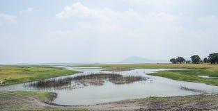 Reservoir in Azië Royalty-vrije Stock Afbeelding