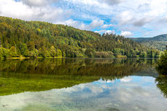 Reservoir Black Forest. Reservoir at the Black Forest stock photography
