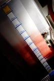Reservoir bloed in het apparaat van IRL. Royalty-vrije Stock Foto