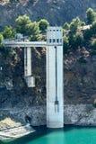 Reservoir Control Station Stock Image