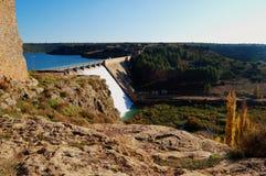 Reservoir and dam Stock Photos