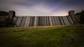 Reservoir Dam Royalty Free Stock Photography