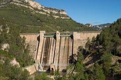 Reservoir dam Stock Image