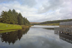 Reservoir in de herfst 2 Stock Fotografie