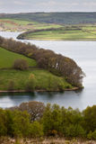 Reservoir in Exmoor Royalty Free Stock Photography