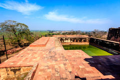 Reservoir in Fatehpur Sikri Stock Photography