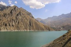 Reservoir a few dozen kilometers from Tehran to the north of the royalty free stock photography