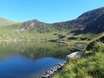 Reservoir Ffynnon Llugwy Stockfotos