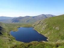 Reservoir Ffynnon Llugwy Stockbilder