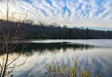 Reservoir-Himmel stockfotografie