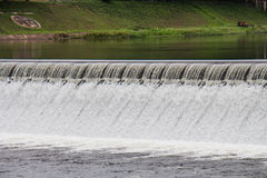 Reservoir from hydroelectric dams Royalty Free Stock Photography