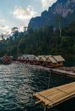 Reservoir Khao Sok. National Park, South Thailand Royalty Free Stock Photo