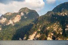 Reservoir Khao Sok. National Park, South Thailand Stock Image