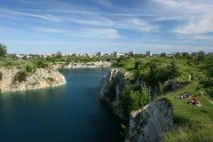 Reservoir in Krakau Stock Foto's