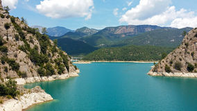 Reservoir Llosa Del Cavall Lizenzfreie Stockfotos