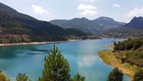 Reservoir Llosa Del Cavall Stockbilder