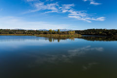 Reservoir from Madrid Stock Photography
