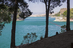 Reservoir in Malaga Stock Photos