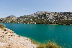 Reservoir in Mallorca Stock Photos