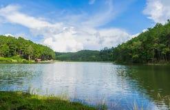 Reservoir at Mok Cham Pae. Tombon Mok Cham Pae, Mueang Mae Hong Son District, Mae Hong Son , Thailand Stock Photography