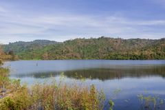 Reservoir in Nakhon Ratchasima Province Royalty Free Stock Images